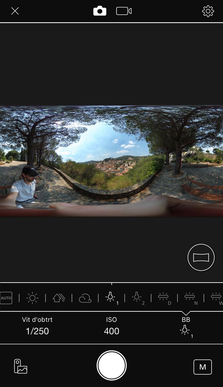 image article caméra à 360° ricoh theta s 8