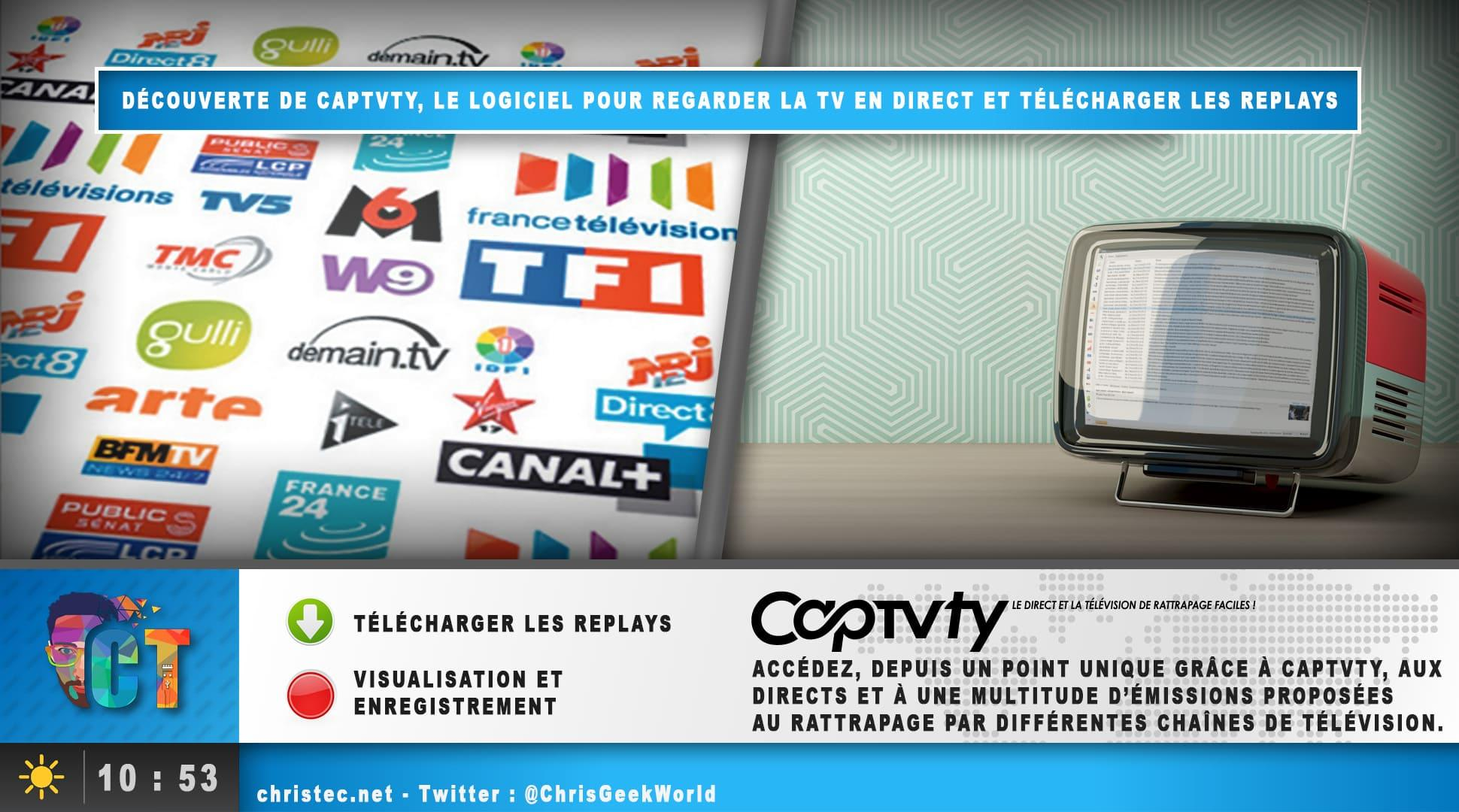 d couverte de captvty regarder la tv en direct et t l charger les replays. Black Bedroom Furniture Sets. Home Design Ideas