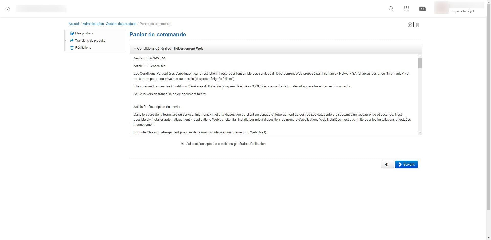 Image tuto pour migrer un hébergement web sur un serveur cloud chez infomaniak 6