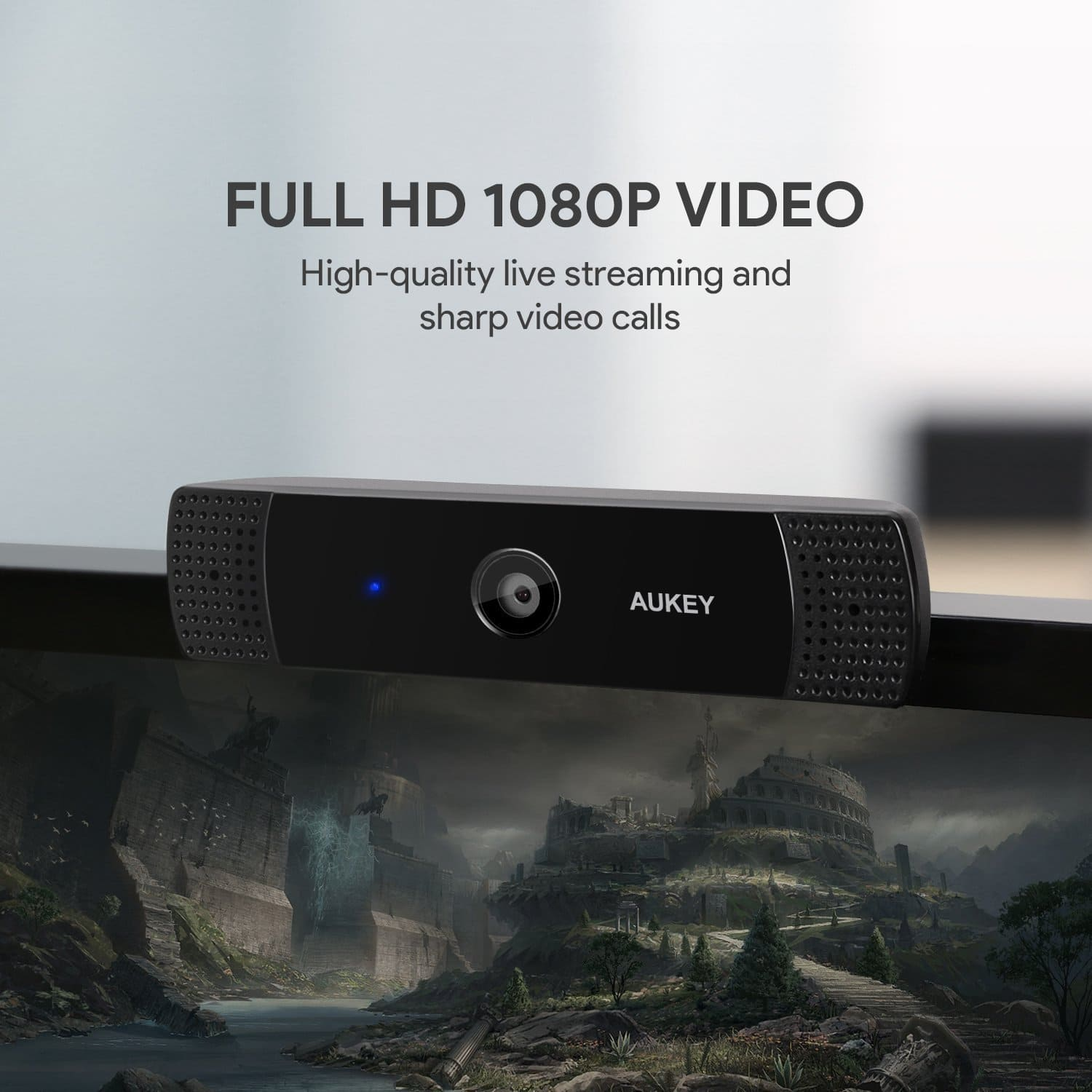 Image test webcam aukey 1080p full hd 9