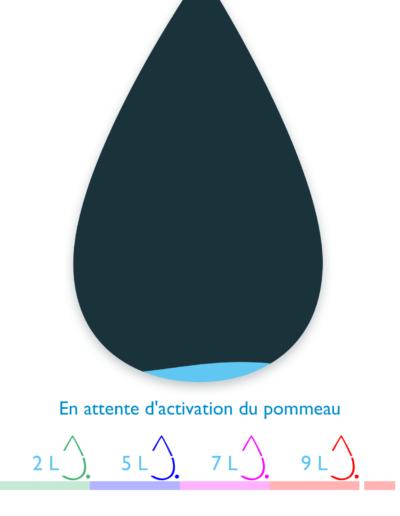 Test du pommeau de douche connecté Hydrao Aloé 17