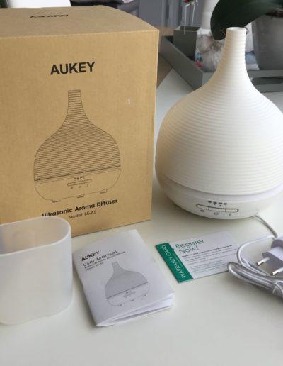 image Test diffuseur d'huiles essentielles à brume AUKEY 5