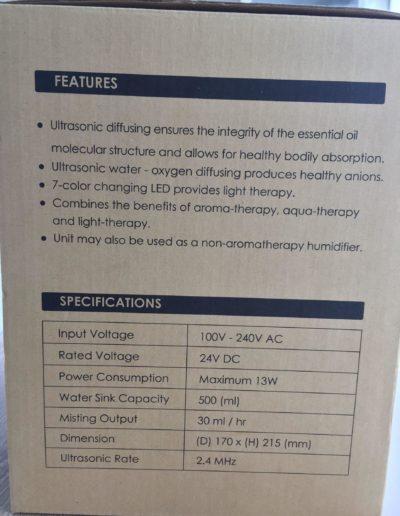 image Test diffuseur d'huiles essentielles à brume AUKEY 2