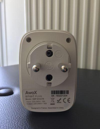 image Test du SmartPLUG de AwoX 7