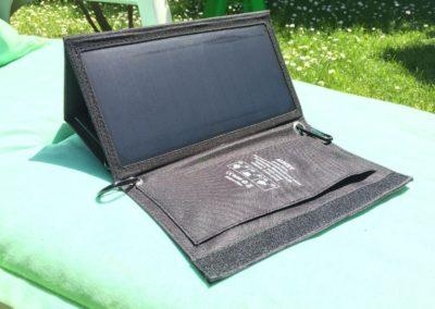 image test du chargeur solaire de 21 w aukey 3