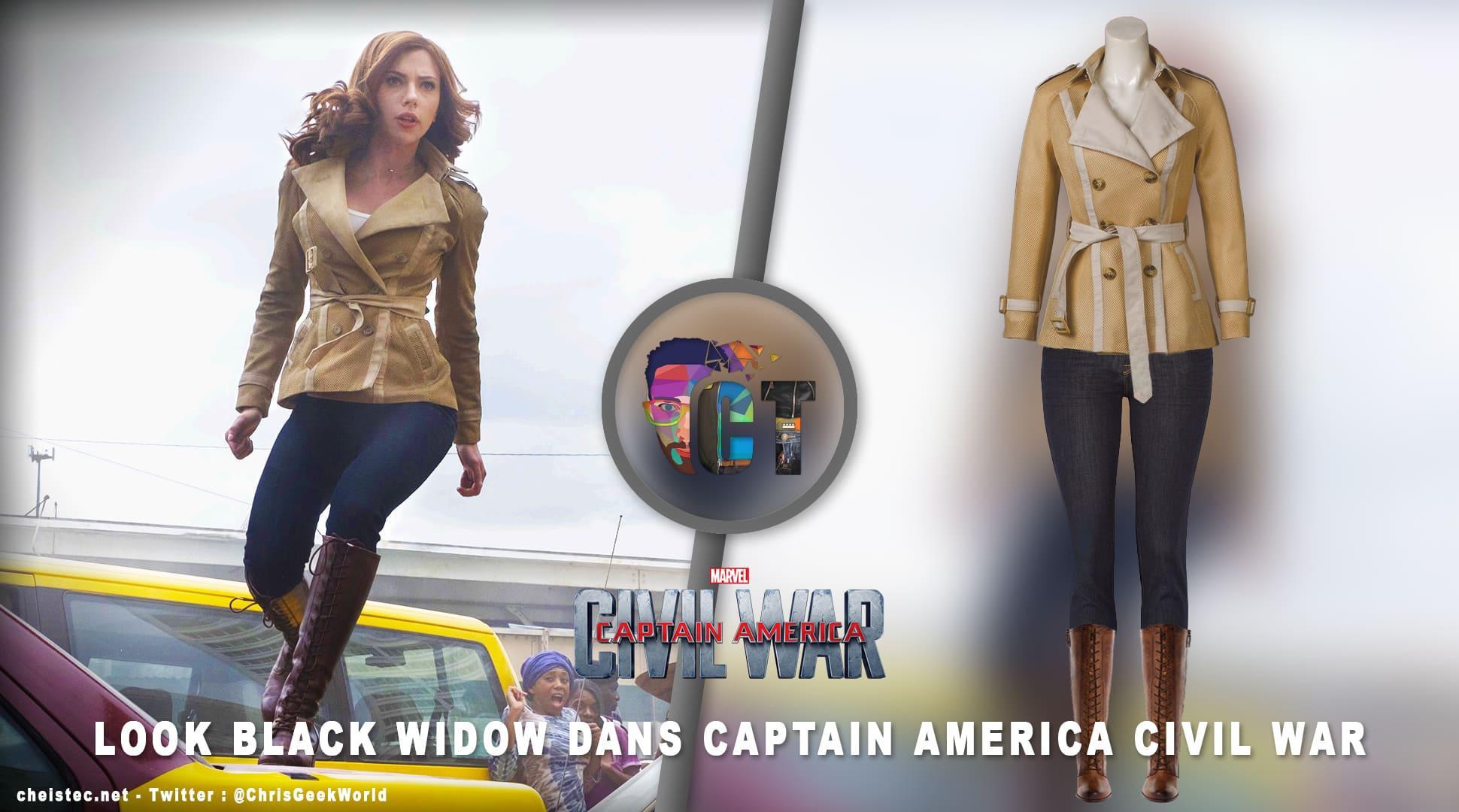 image en-tête Arborer le look de (Black Widow) Natasha Romanoff en jeans J Brand