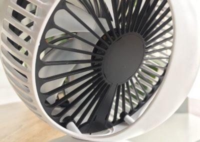 image test du ventilateur de bureau usb klim breeze 5