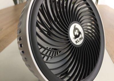 image test du ventilateur de bureau usb klim breeze 6