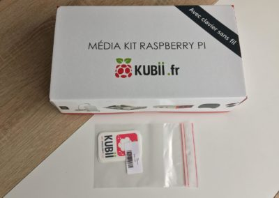 image Test du kit média center Raspberry PI 3 B+ de Kubii 2