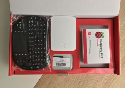 image Test du kit média center Raspberry PI 3 B+ de Kubii 3
