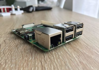 image Test du kit média center Raspberry PI 3 B+ de Kubii 5