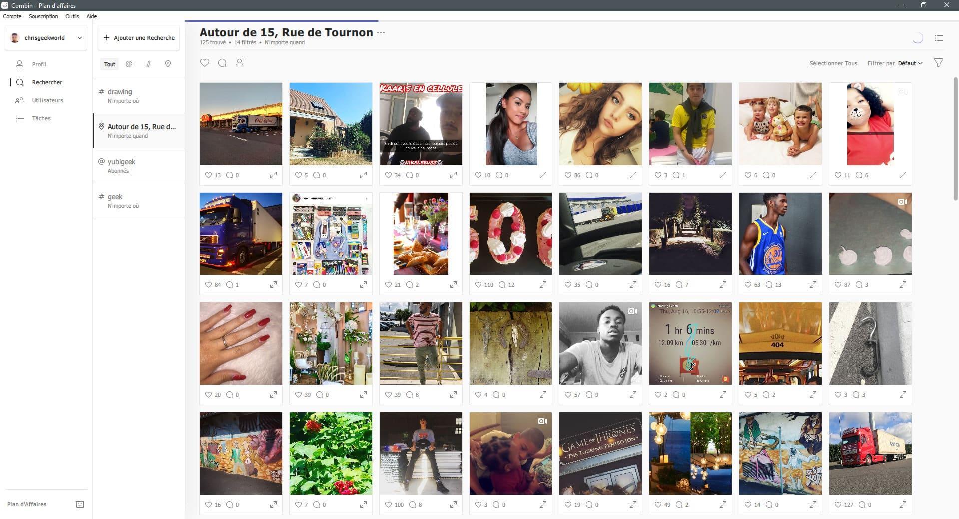 image Test de Combin, gérez et boostez votre Instagram d'une manière efficace et organique 4