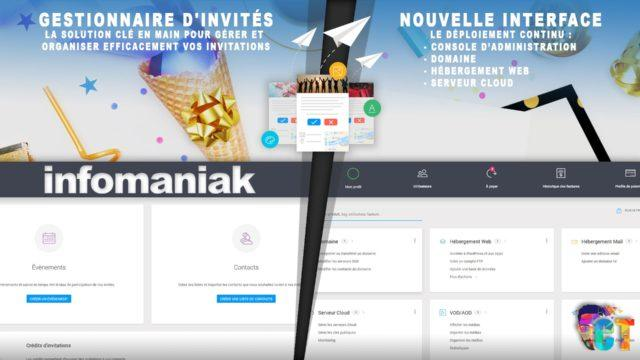 Infomaniak, nouveau gestionnaire d'invités et le déploiement de la nouvelle interface continu