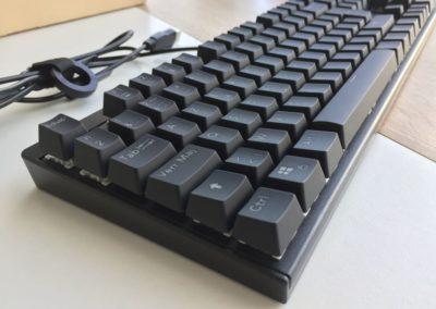 image test du clavier mécaniqueKM-G6 pour gamer Aukey rétroéclairé par LED 7