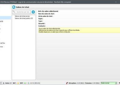 image chiffrer tous vos communication et échange de fichiers, tout en protégeant votre IP avec Retroshare 5