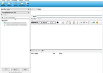 image chiffrer tous vos communication et échange de fichiers, tout en protégeant votre IP avec Retroshare 15
