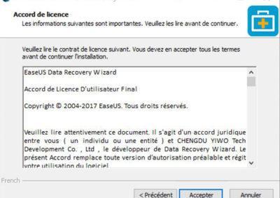 image Test du logiciel de recuperation de donnée EaseUS Data Recovery Wizard Pro 3