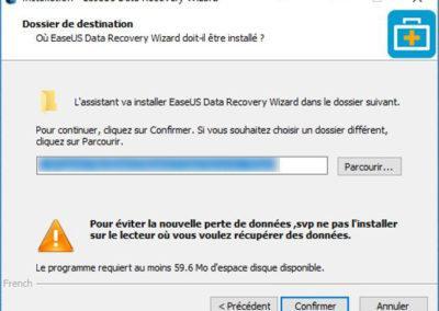 image Test du logiciel de recuperation de donnée EaseUS Data Recovery Wizard Pro 5