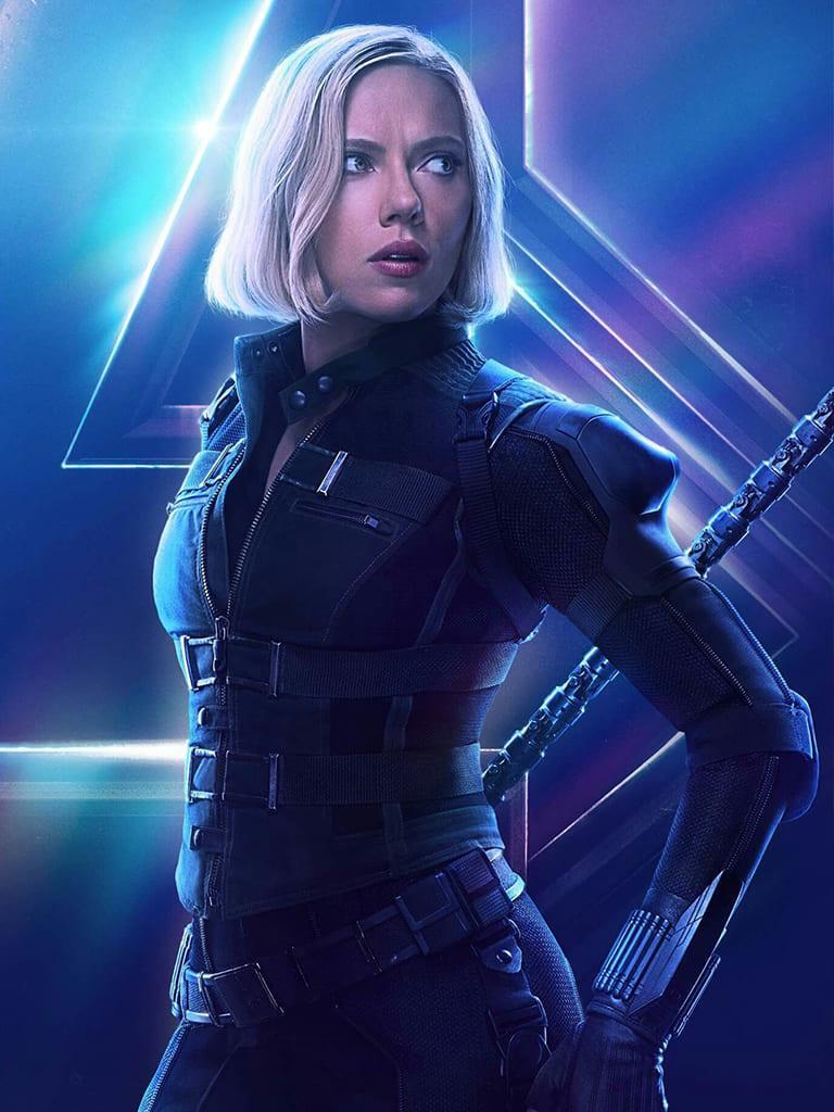 """image Look de """"Black Widow"""" Natasha Romanoff dans Avengers Infinity War (Combinaison et Veste) 2"""