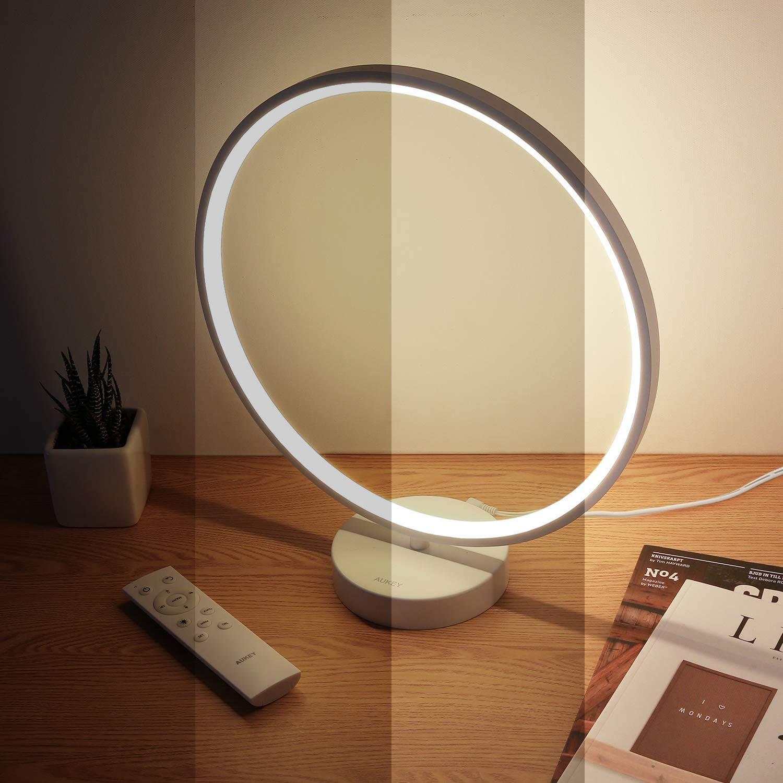 image Test de la lampe à LED multicolore en anneau d'Aukey 12