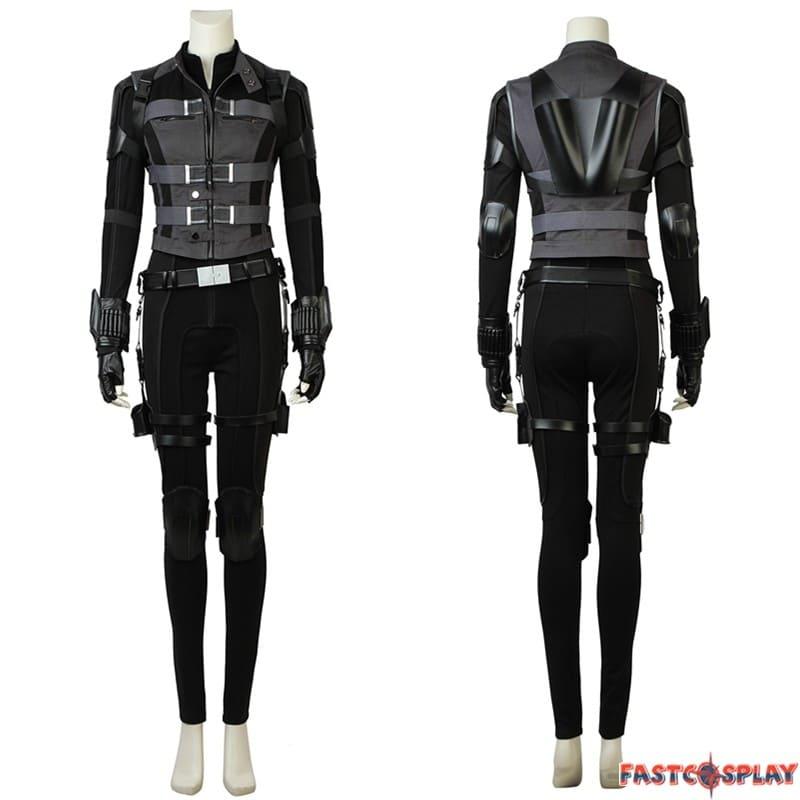"""image Look de """"Black Widow"""" Natasha Romanoff dans Avengers Infinity War (Combinaison et Veste) 23"""