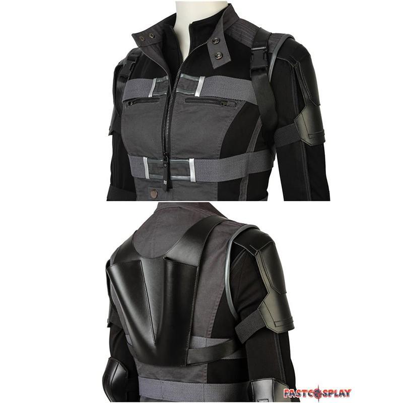 """image Look de """"Black Widow"""" Natasha Romanoff dans Avengers Infinity War (Combinaison et Veste) 25"""
