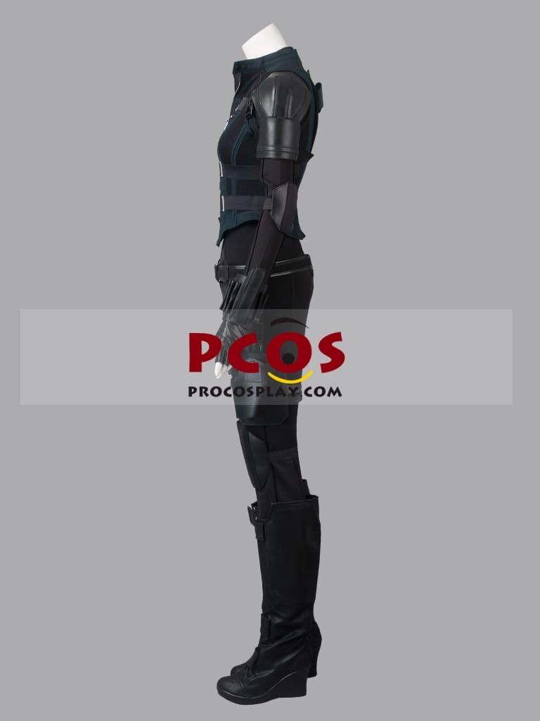 """image Look de """"Black Widow"""" Natasha Romanoff dans Avengers Infinity War (Combinaison et Veste) 10"""