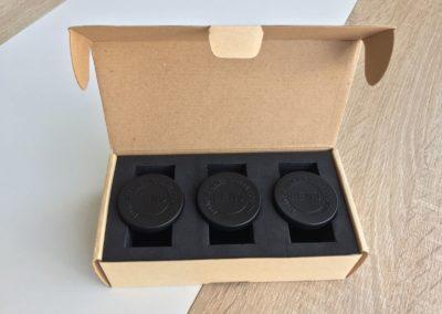 image Test du kit de 3 lentilles Aukey à filtre dégradé gris, bleu, et orange pour smartphone 7